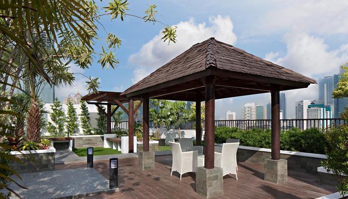 Ayaka Suites Jakarta - Rooftop Gazebo