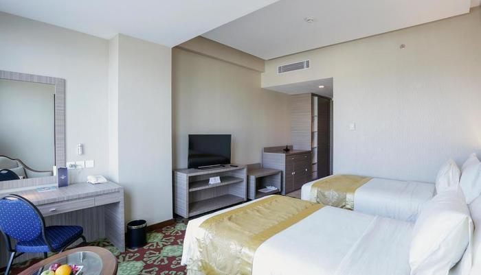 Selyca Mulia Hotel and Shopping Center Samarinda - Kamar Deluxe Twin