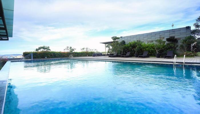 Selyca Mulia Hotel and Shopping Center Samarinda - Kolam Renang