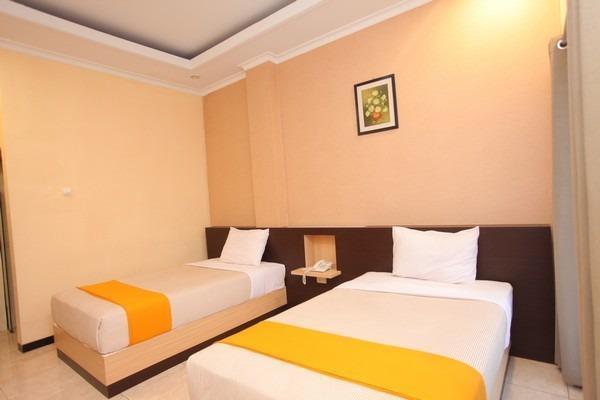 Hotel New Merdeka Pati - Deluxe Tempat Tidur Twin