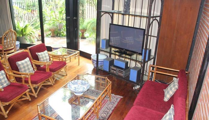 OBC Guest House Bandung - Ruang tamu