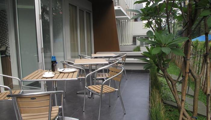 Sampit Residence Jakarta - Ruang sarapan prasmanan