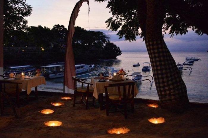 NusaBay Hotel Bali - Romantic Dinner