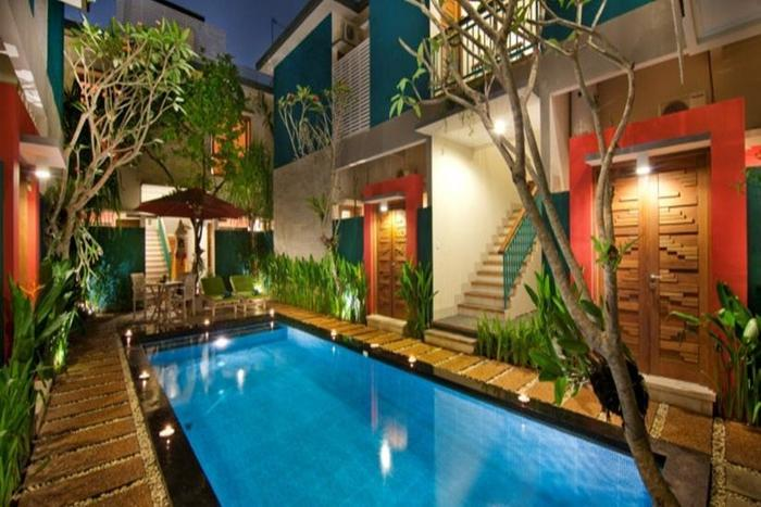 The Green Zhurga Bali - Kolam Renang