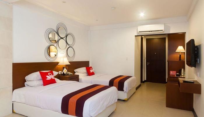 ZenRooms Tanjung Benoa Pratama Bali - Tempat tidur Twin
