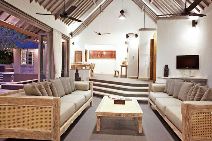 The Puri Shanti Villas Bali - Ruang Tamu