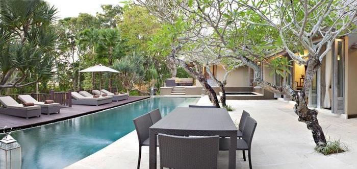 The Puri Shanti Villas Bali - Kolam Renang