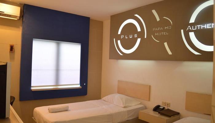 Papa Ho Hotel Bogor - kamar Twin Suite