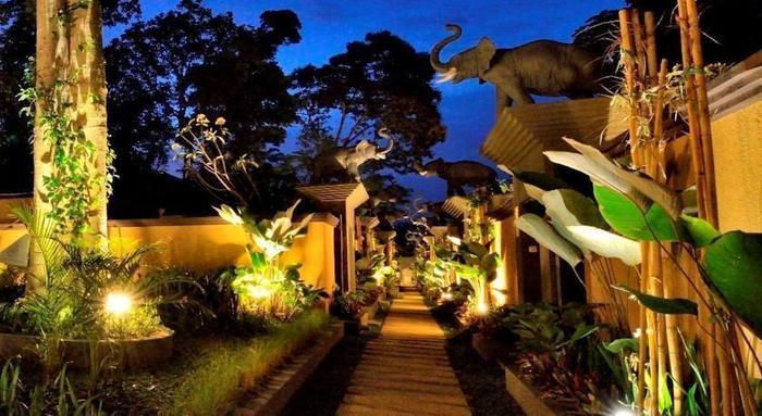 Gino Feruci Villa Ubud Bali - Eksterior
