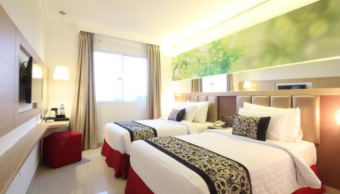 Agria Gino Feruci Hotel Bogor - dua tempat tidur