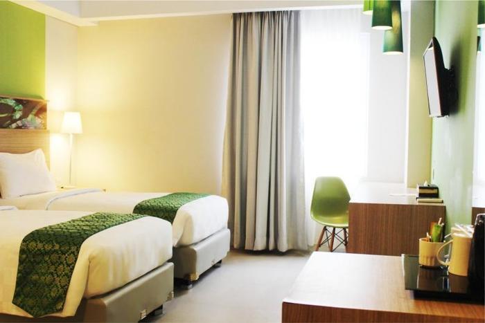 Pesonna Hotel Pekanbaru - Deluxe Twin