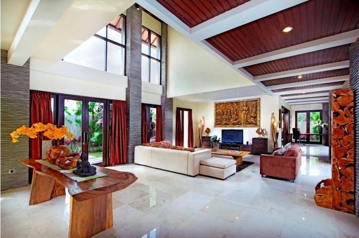 The Bale Tokek Villa Bali - Ruang tamu