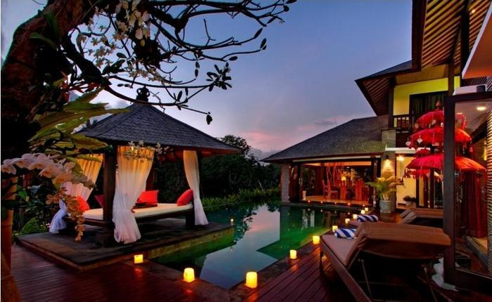 The Bale Tokek Villa Bali - pemandangan