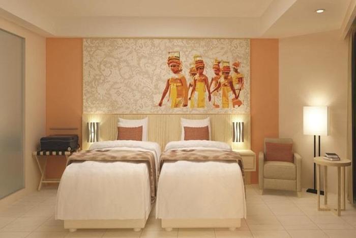 Citadines Kuta Beach Bali - Kamar tamu