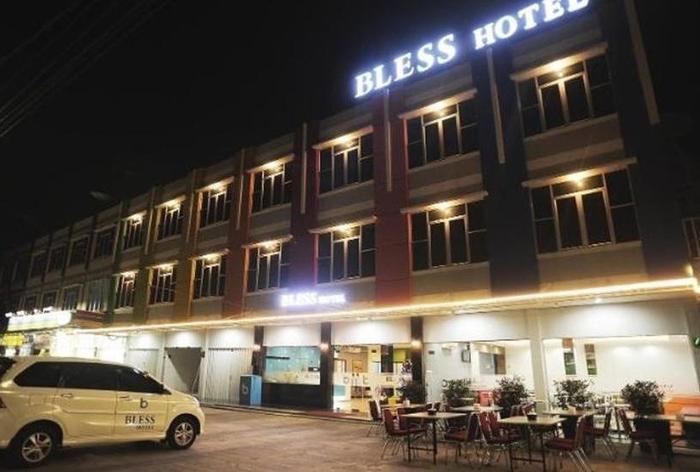 Blessing Hotel Palembang - Eksterior