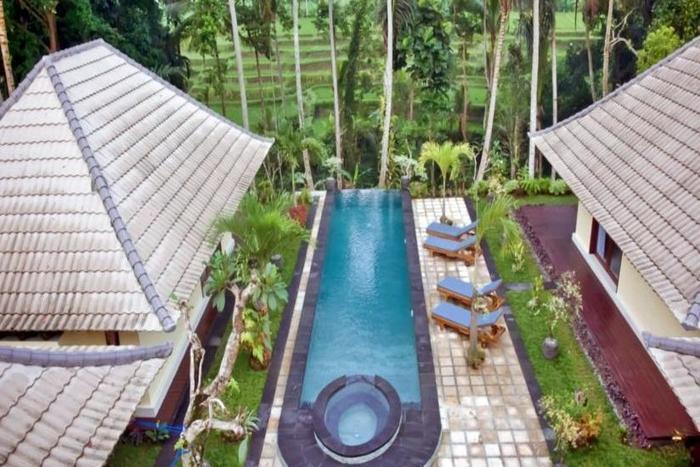 Junjungan Suite Villa Bali - Tampilan Luar Hotel