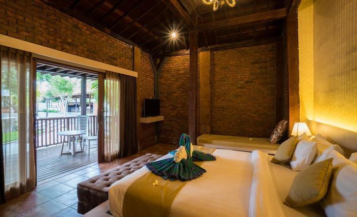 Pandawa Beach Villas & Resort Lombok - Joglo kamar