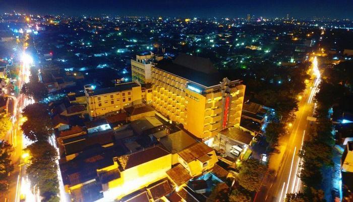 Hotel Asia Solo - eksterior bangunan