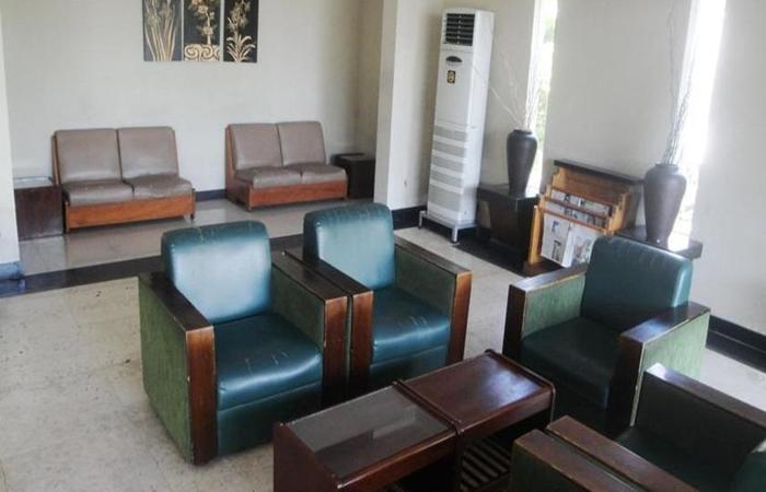 Hotel Merbabu Semarang - Ruang tamu