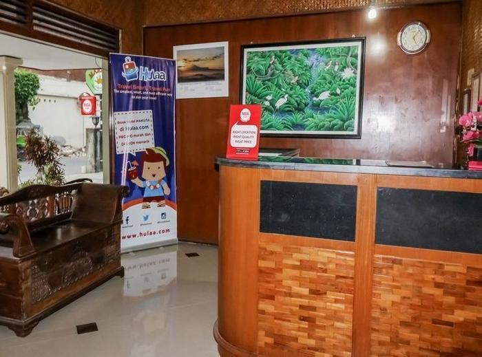 NIDA Rooms Crown Kraton Tugu Station - Resepsionis