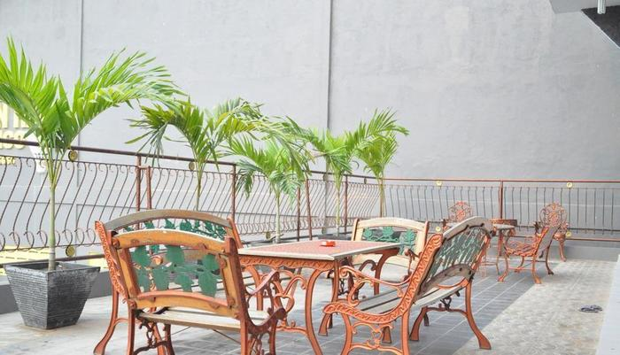 Hotel Flamengo Serang - Teras