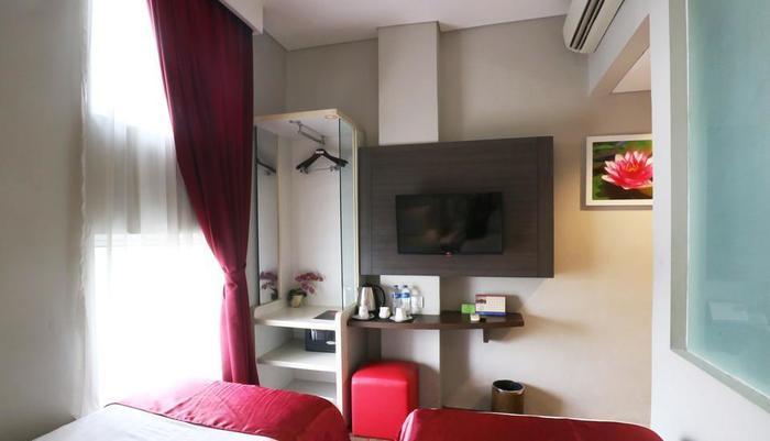 D' Hotel Jakarta - Divine Twin Room