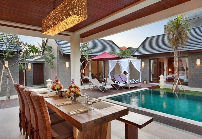 Lumbini Luxury Villas and Spa Bali - Pool (3 Bedroom Suite)