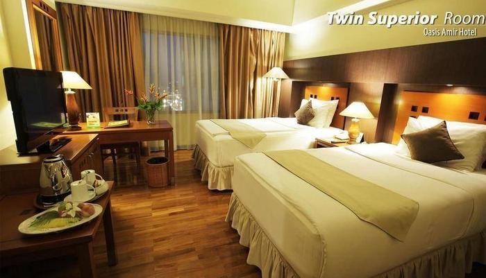 Oasis Amir Hotel Jakarta - SUPERIOR TWIN