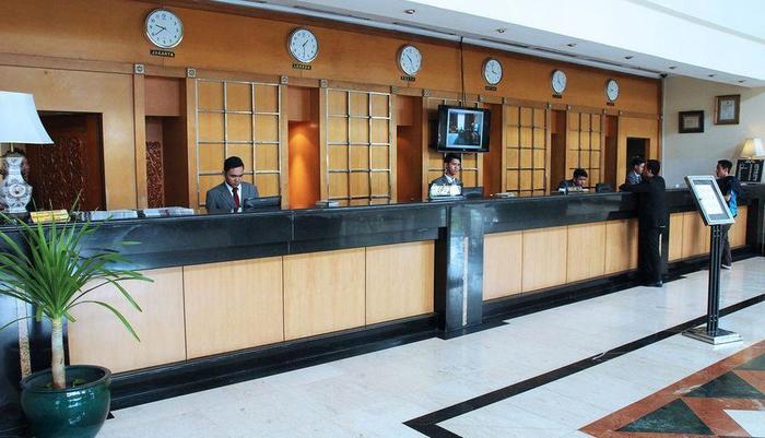 Oasis Amir Hotel Jakarta - RECEPTION