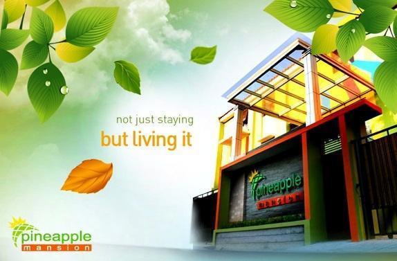 Pineapple Mansion Solo - Tampilan Luar