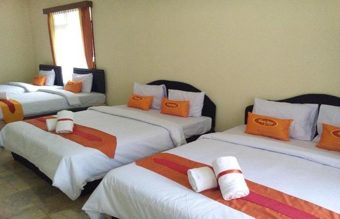 Simply Homy Guesthouse Pasteur Bandung - Kamar tidur