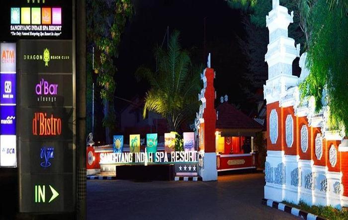 Sanghyang Indah Spa resort Serang - Tampilan Luar Hotel