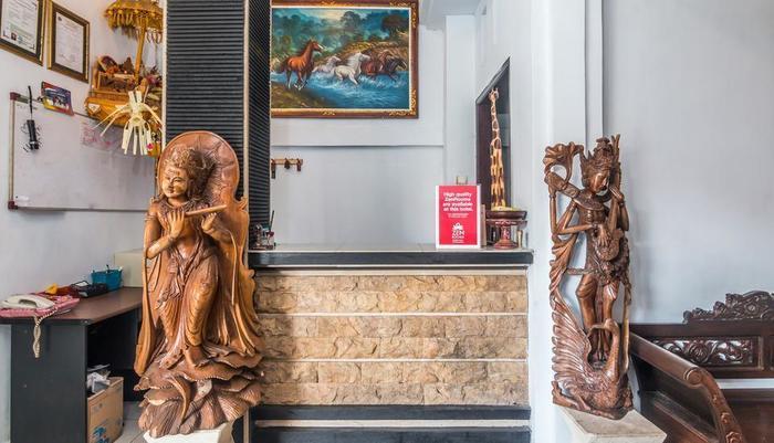 ZenRooms Kedonganan Bantas Kangin Bali - Resepsionis