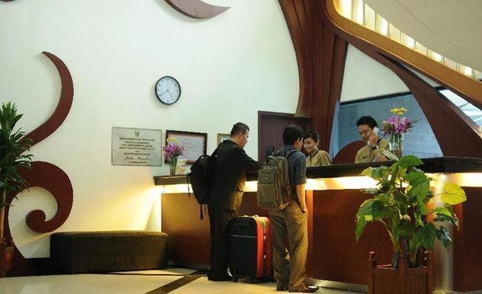 Hotel Swarna Dwipa Palembang - Lobi