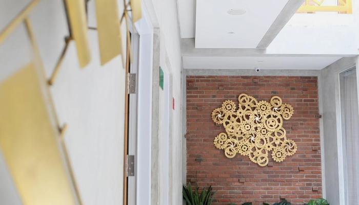 The Batik Bed & Coffee Bandung - area lobby