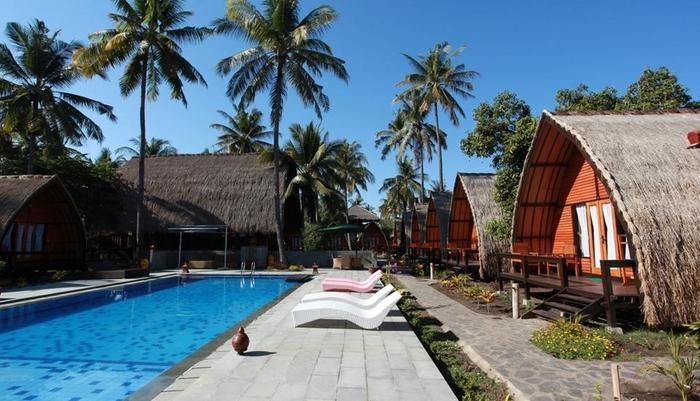 Lumbung Gede Resort Lombok - Kolam Renang