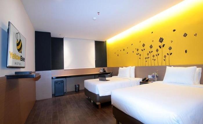 Yellow Bee Hotel Tangerang - Kamar tamu
