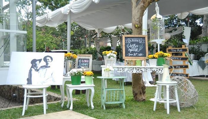 Malaka Hotel Bandung - acara pernikahan di Taman