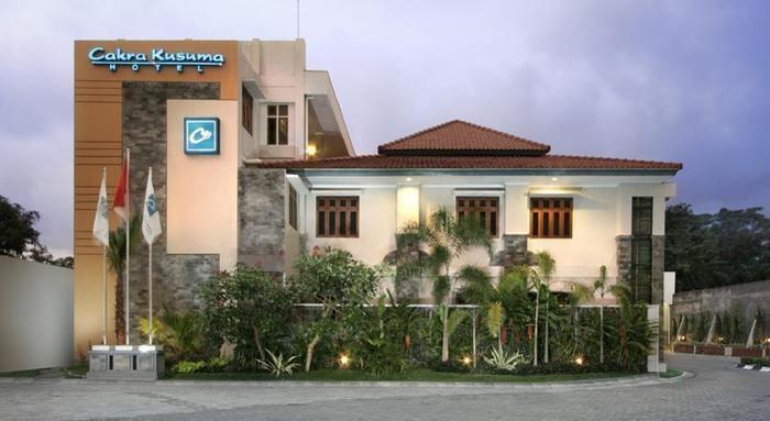 Cakra Kusuma Hotel Yogyakarta - Tampilan Luar