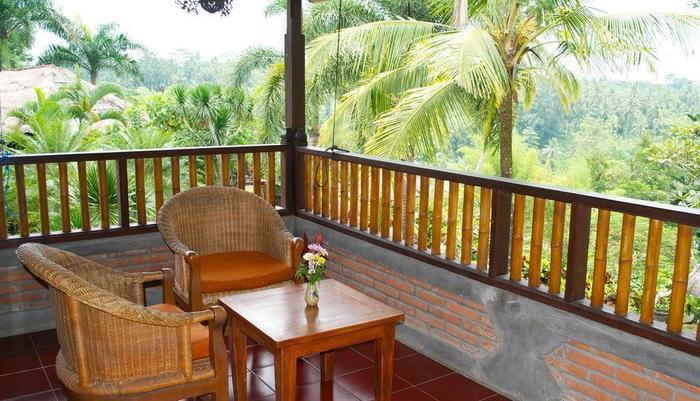 Bunga Permai Hotel Bali - Balkon