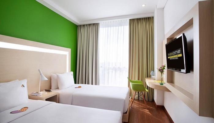 MaxOne Hotel Belitung - room