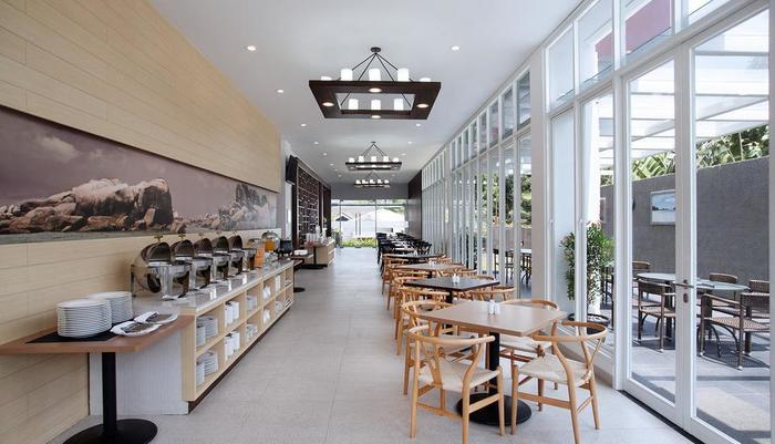 MaxOne Hotel Belitung - restaurant