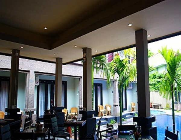 Taman Tirtha Ayu Pool & Mansion Bali - Restaurant