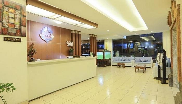 Puri Dibia Hotel Bali - lobi hotel