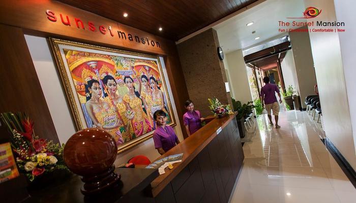 Sunset Mansion Bali - COUNTER KANTOR DEPAN