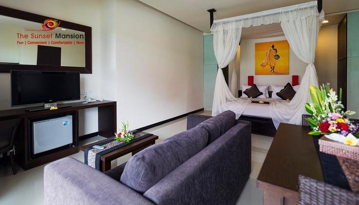 Sunset Mansion Bali - Ruang tamu