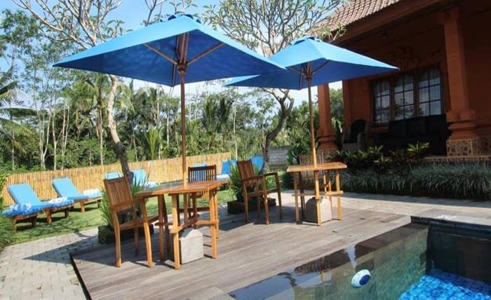 Bon Nyuh Bungalows Bali Bali - Kolam Renang