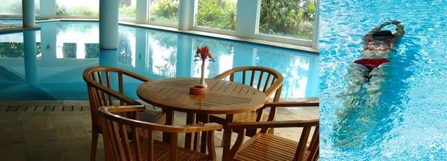 Klub Bunga Butik Resort Malang - Kolam Renang Indoor
