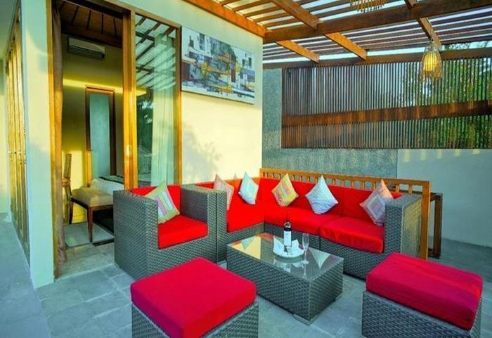 Villa Travis Bali - Ruang tamu
