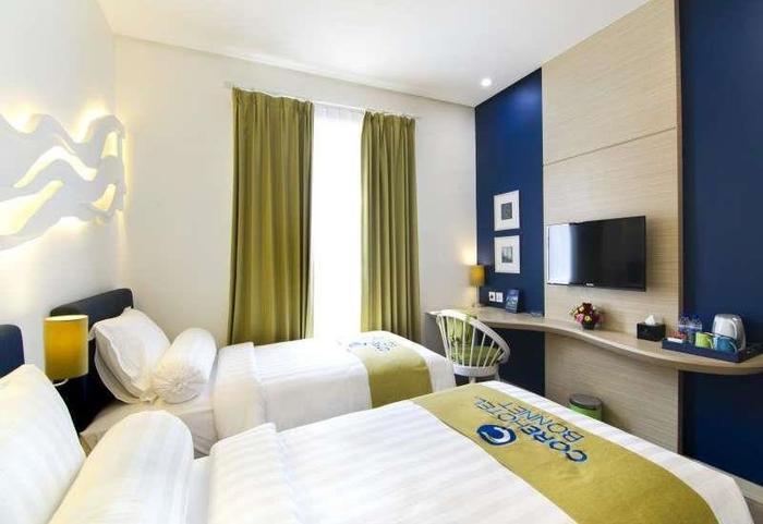 Core Hotel Bonnet Surabaya - Kamar tamu